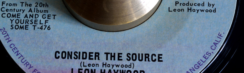 Le Fonque: Consider The Source